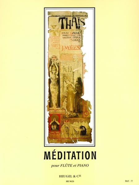 Thais: Meditation - Flute et Piano