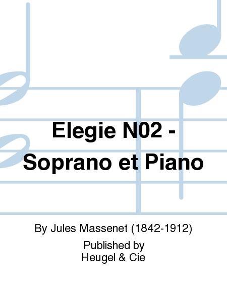 Elegie No.2 - Soprano et Piano