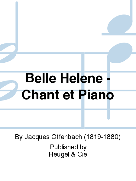 Belle Helene - Chant et Piano