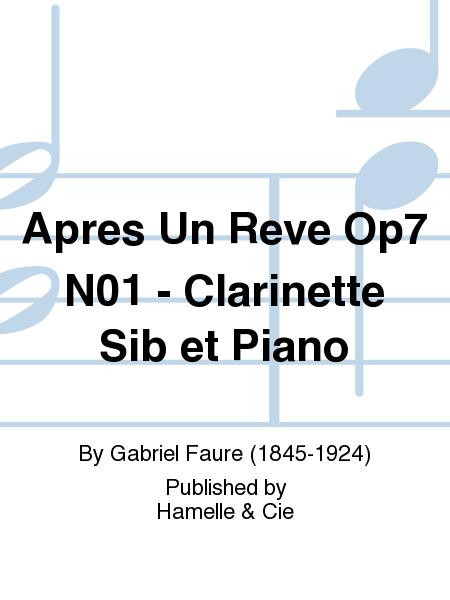 Apres Un Reve Op7 No.1 - Clarinette Sib et Piano