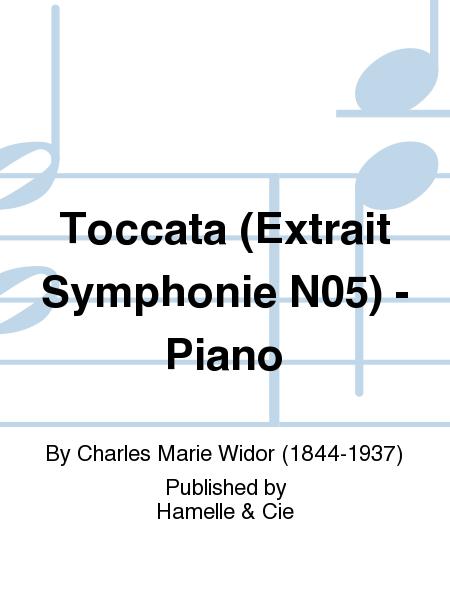Toccata (Extrait Symphonie No.5) - Piano