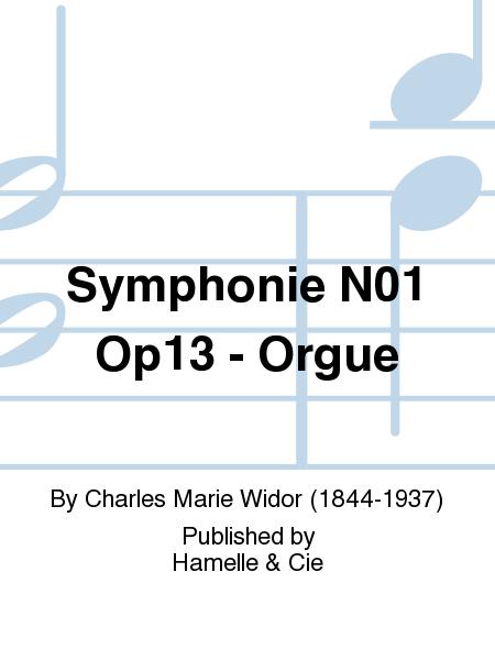 Symphonie No.1 Op13 - Orgue
