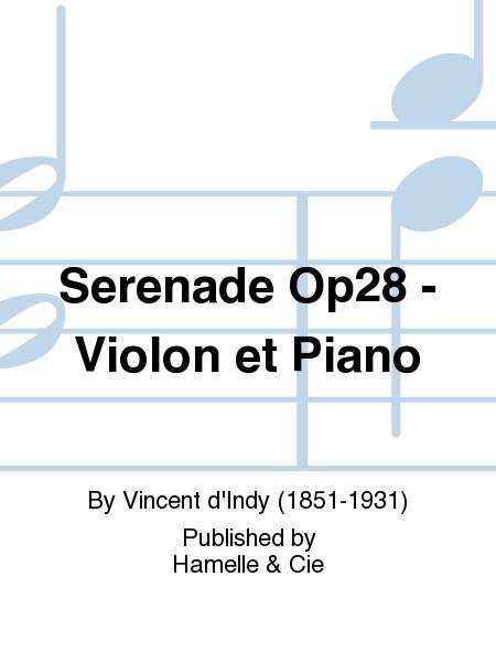 Serenade Op28 - Violon et Piano