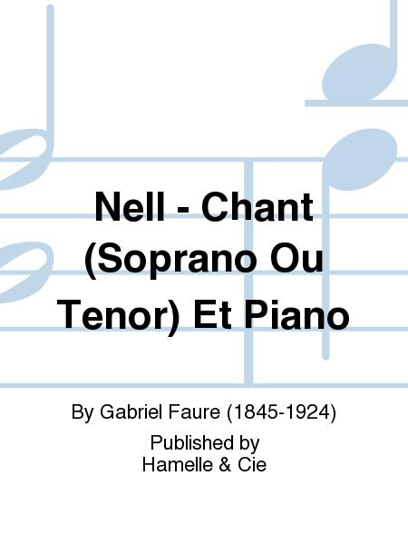 Nell - Chant (Soprano Ou Tenor) Et Piano