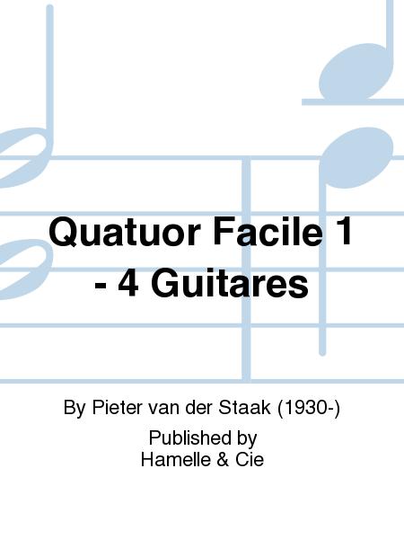 Quatuor Facile 1 - 4 Guitares