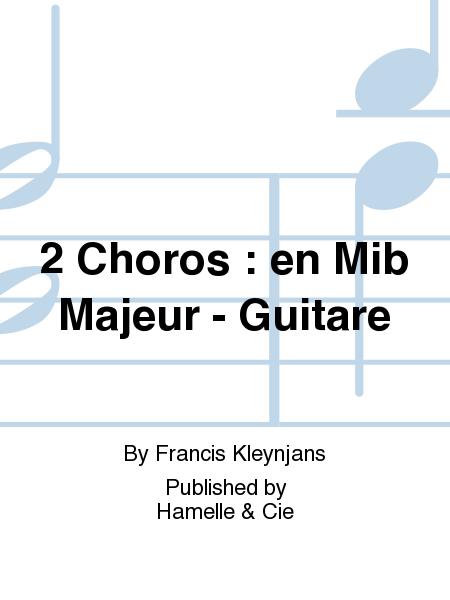 2 Choros : en Mib Majeur - Guitare