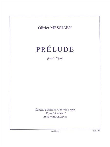 Prelude - Orgue