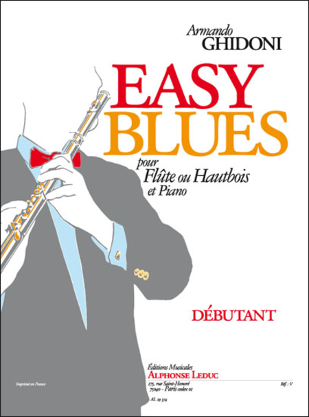 Easy Blues - Flute ou Hautbois et Piano/Debutant