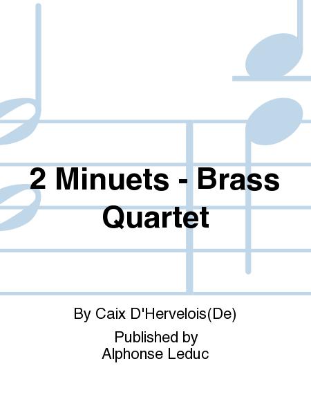 2 Minuets - Brass Quartet