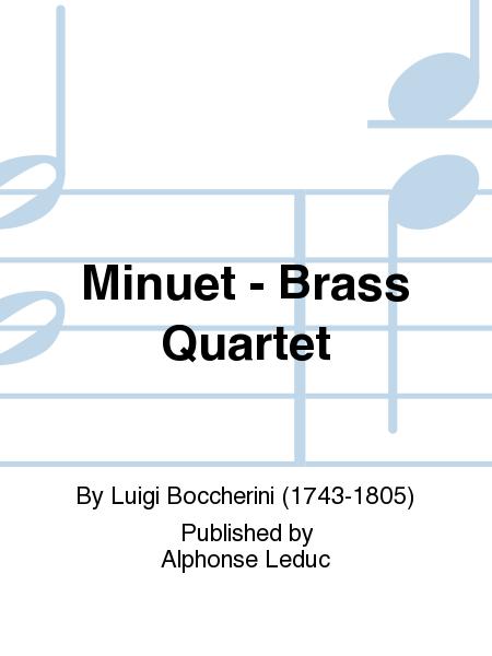 Minuet - Brass Quartet