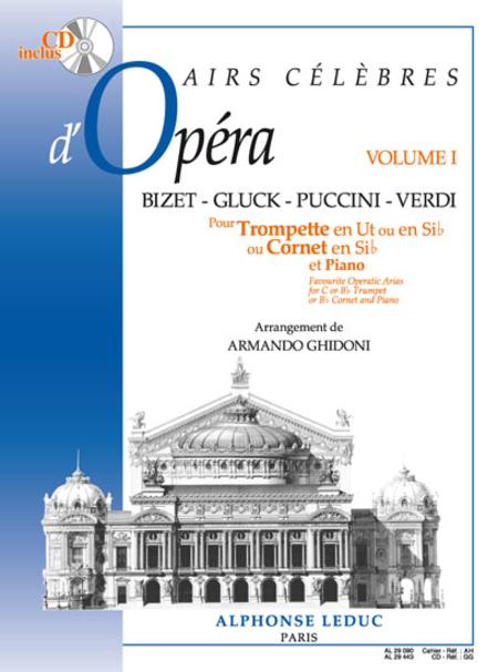 Airs Celebres D'Opera (Vol1) - Trompette Ut Ou Sib Et Piano (Avec CD)