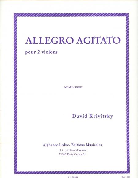 Allegro Agitato - 2 Violons
