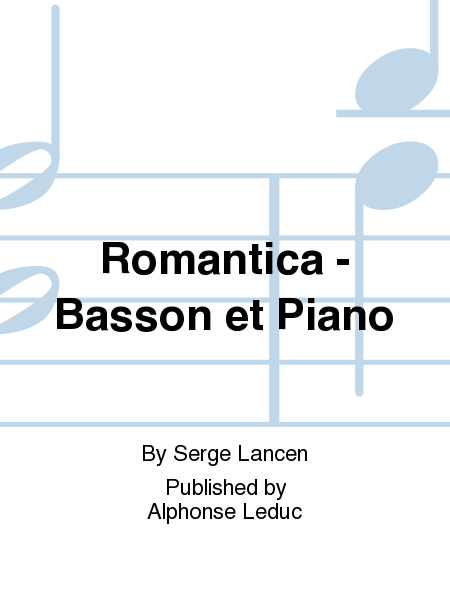 Romantica - Basson et Piano