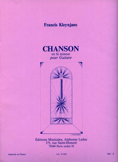 Chanson en Si Mineur - Guitare