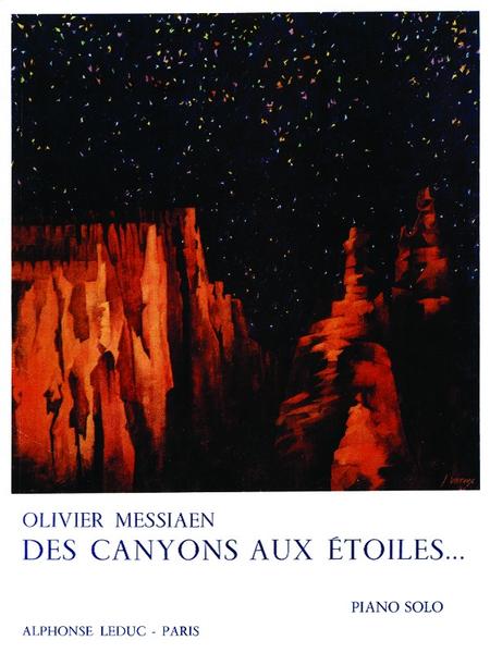Des Canyons Aux Etoiles - Piano Solo