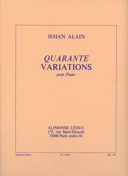 40 Variations - Piano