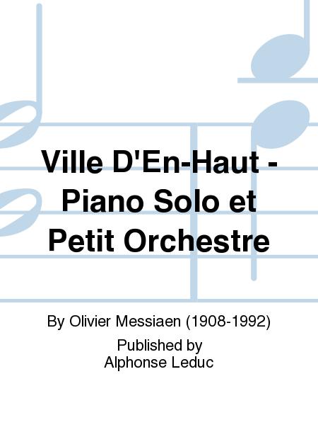Ville D'En-Haut - Piano Solo et Petit Orchestre