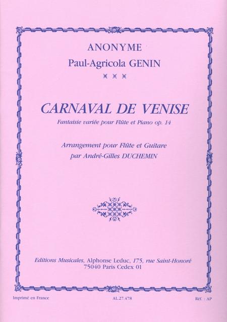 Carnaval de Venise - Flute et Guitare