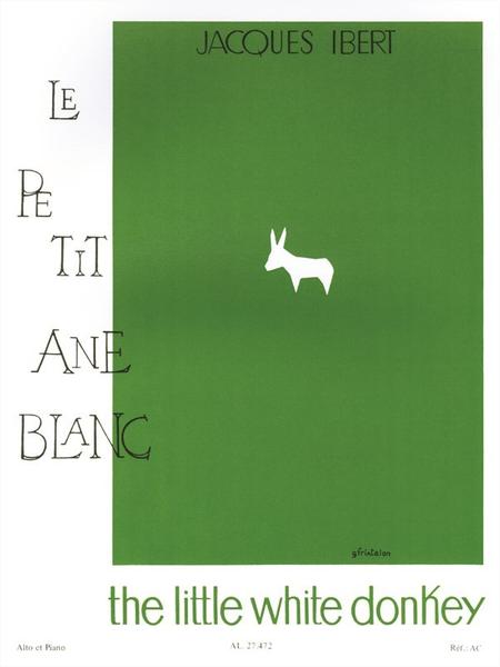 Histoires No.2 Le Petit Ane Blanc Alto et Piano