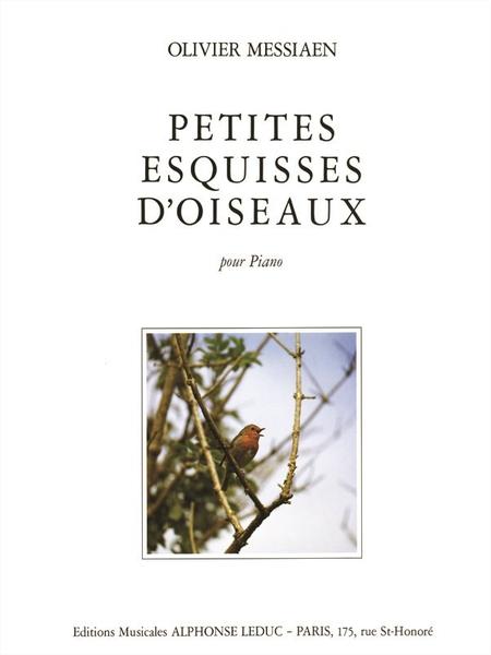 Petites Esquisses D'Oiseaux - Piano