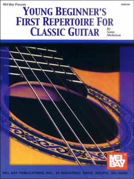 Young Beginner's First Repertoire for Classic Guitar