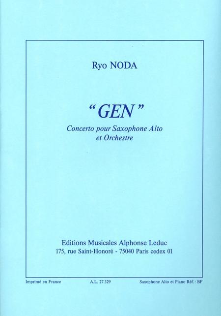 Gen - Saxophone Mib et Piano