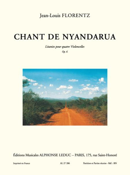 Chant De Nyandarua - Litanies/4 Violoncelles