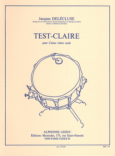 Test-Claire - Caisse-Claire
