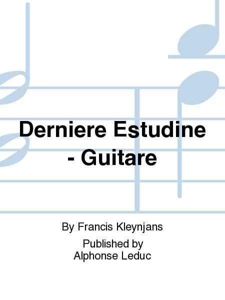 Derniere Estudine - Guitare
