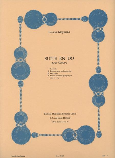 Suite en Do - Guitare