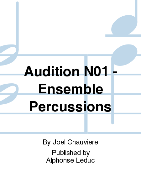 Audition No.1 - Ensemble Percussions