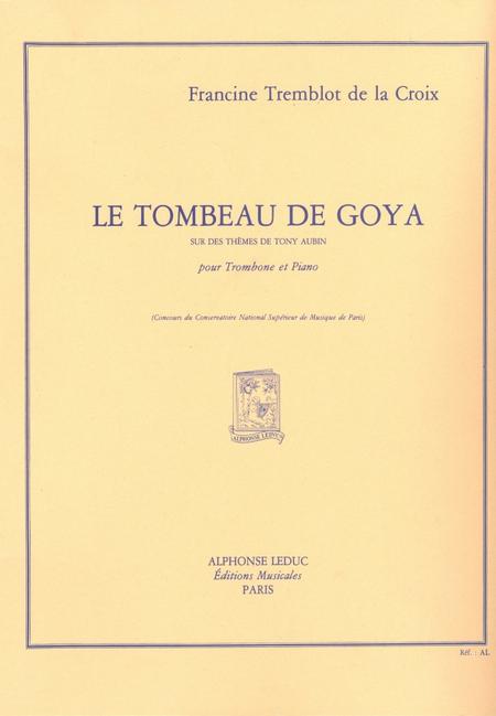 Tombeau De Goya - Tuba Ou Trombone Ut Ou Saxhorn Basse Sib Et Piano