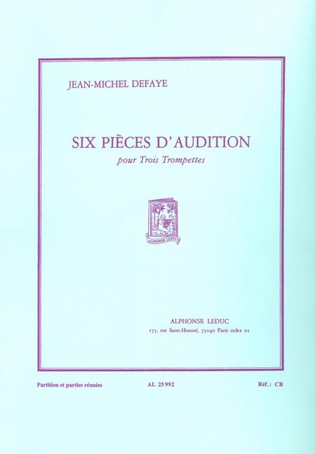6 Pieces D'Audition - 3 Trompettes