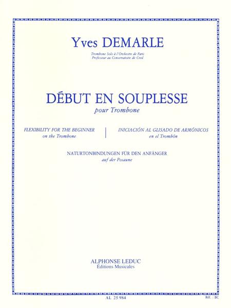 Debut en Souplesse - Trombone
