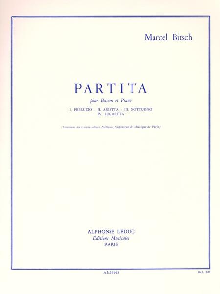 Partita - Basson et Piano