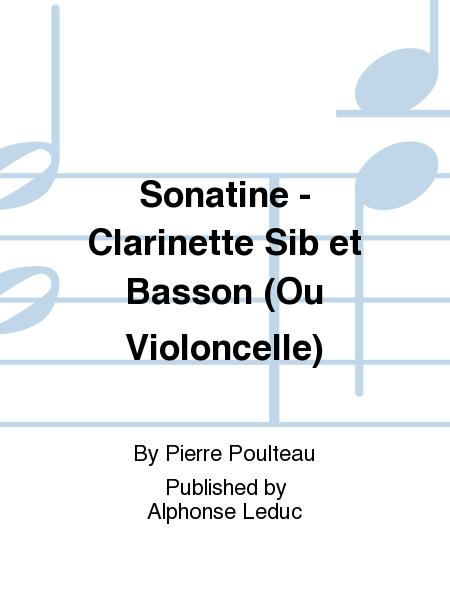 Sonatine - Clarinette Sib et Basson (Ou Violoncelle)