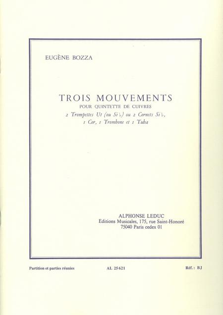 3 Mouvements - Quintette Cuivres