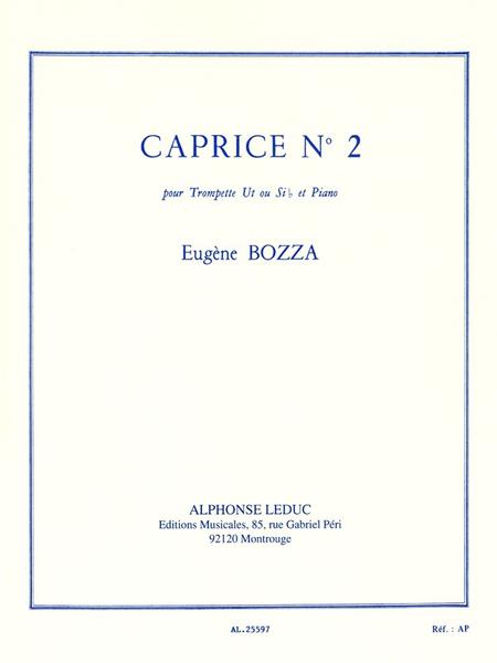 Caprice No.2 - Trompette Ut ou Sib et Piano
