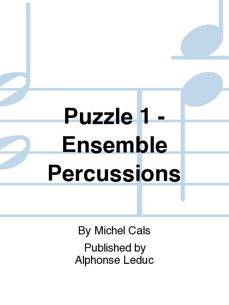 Puzzle 1 - Ensemble Percussions
