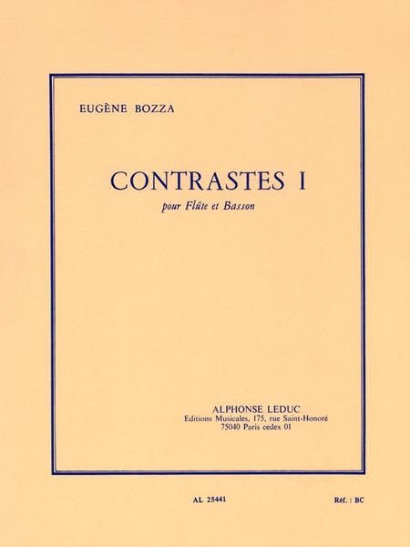 Contrastes 1 - Flute et Basson