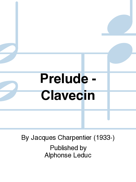 Prelude - Clavecin