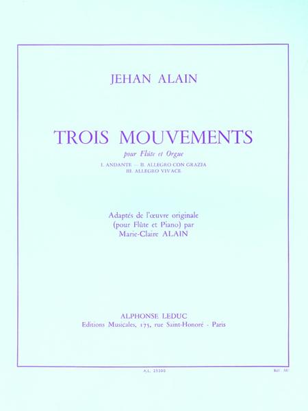 3 Mouvements - Flute et Orgue