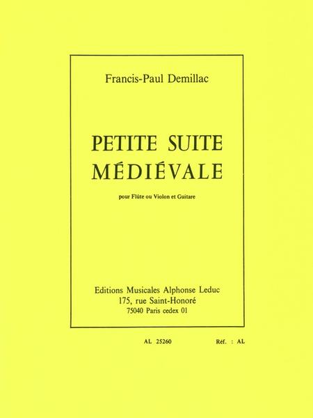 Petite Suite Medievale - Flute ou Violon et Guitare