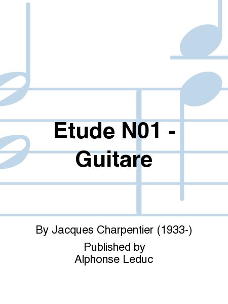 Etude No.1 - Guitare