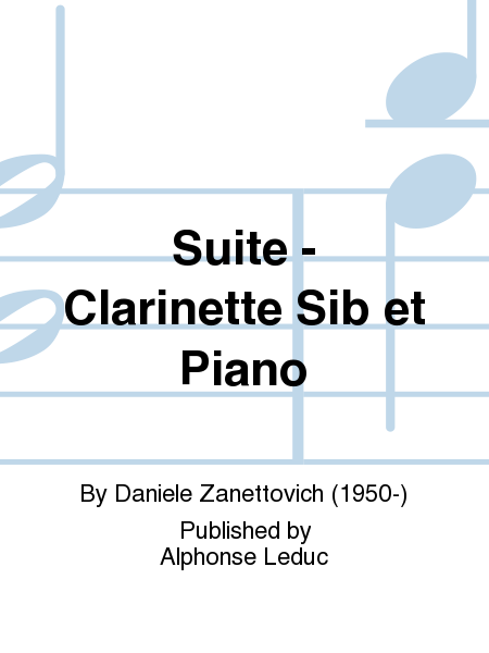 Suite - Clarinette Sib et Piano