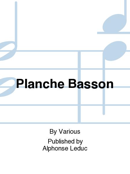 Planche Basson