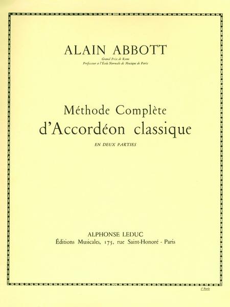 Methode D'Accordeon Classique - Volume 2