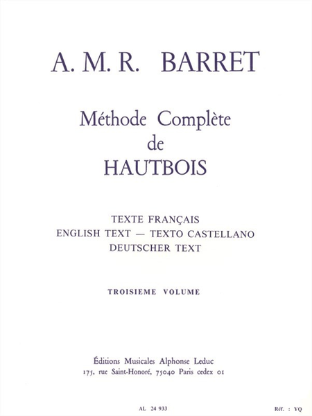 Methode Volume 3 - Hautbois