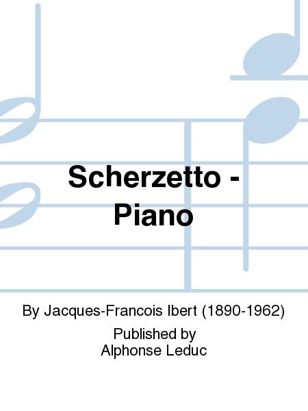 Scherzetto - Piano