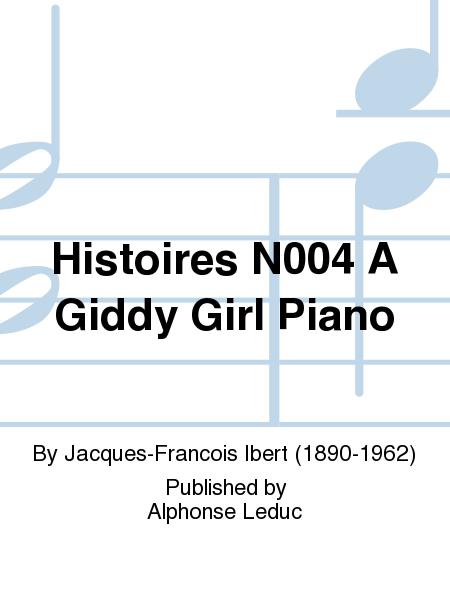 Histoires No.4 A Giddy Girl Piano